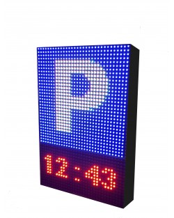 ROTULO LED PROGRAMABLE PARA PARKING RGB
