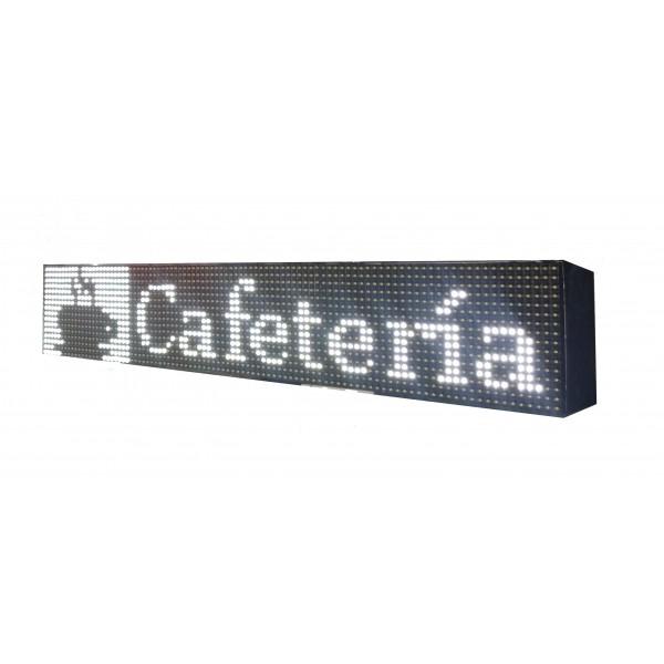 LETRERO LED PROGRAMABLE PARA BARES - RESTAURANTES - CAFETERÍAS RGB