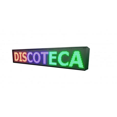 LETREROS LED PROGRAMABLE PARA DISCOTECAS - PUB EN RGB, 2 CARAS. DISPONIBLE EN VARIOS TAMAÑOS