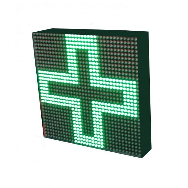 LETRERO LED PROGRAMABLE PARA CLÍNICAS EN RGB, 2 CARAS. DISPONIBLE EN VARIOS TAMAÑOS