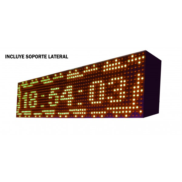 ROTULO LED PROGRAMABLE 96X16 CM 1 CARA